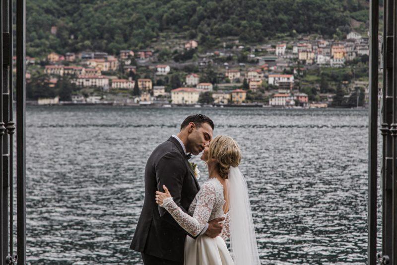 wedding photographer in villa lario lake of como