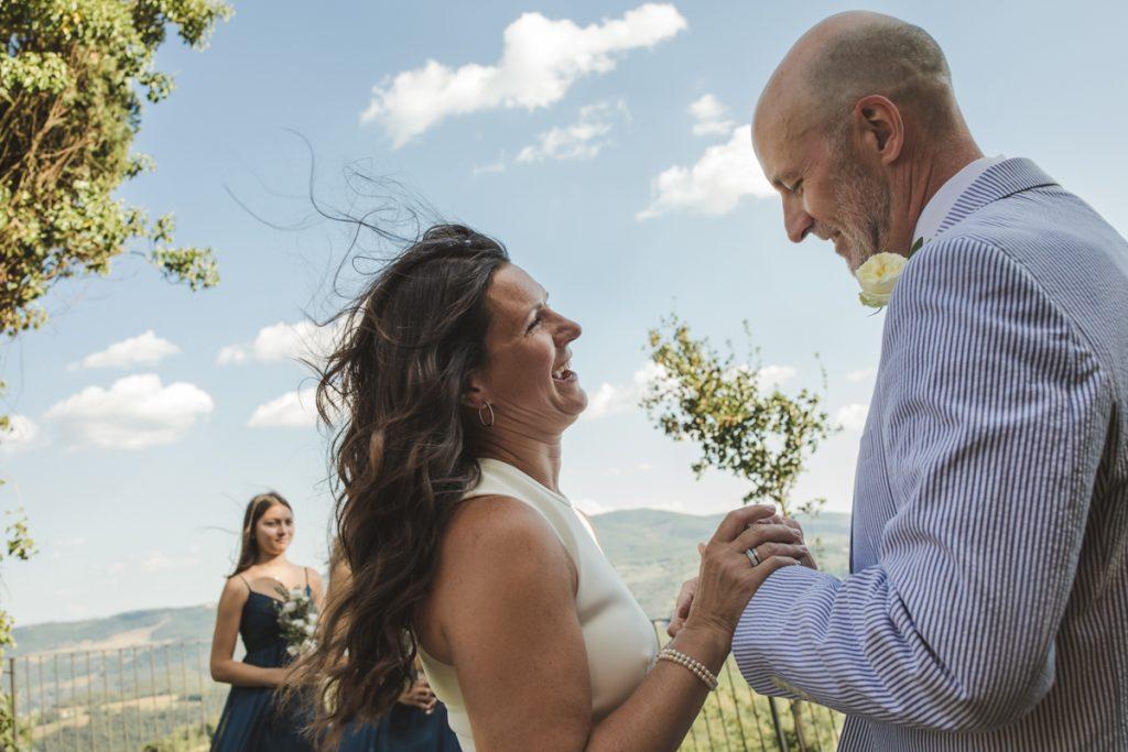 wedding celebration in castelllo di titignano orvieto