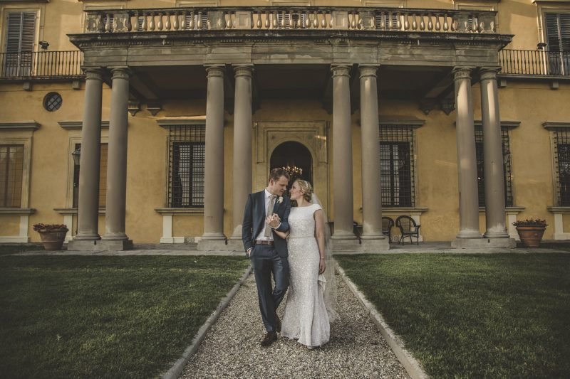 wedding photographer in villa di maiano florence