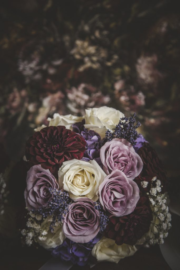 flower decorations in certaldo