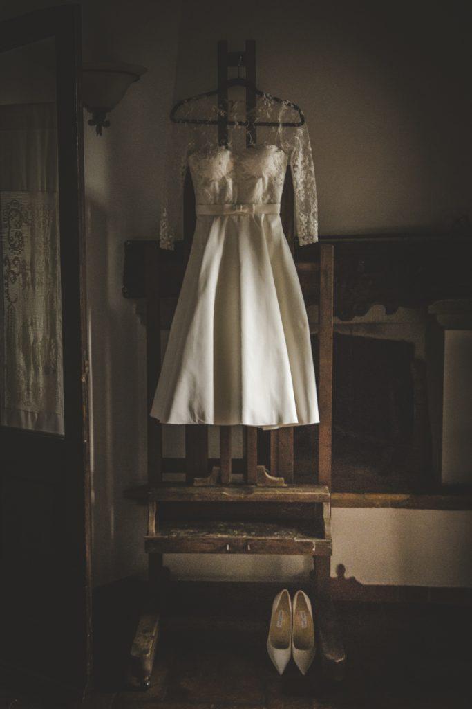 wedding dress in certaldo