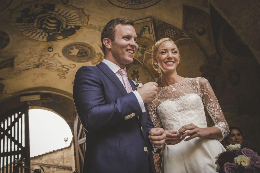 wedding photo shoot in certaldo
