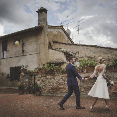 wedding photographer in certaldo
