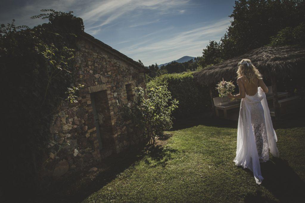 bride photo shoot in villa podernovo siena