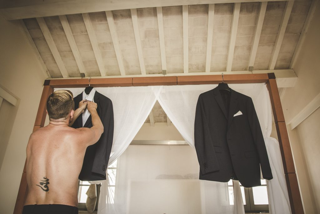 wedding dresses in la bandita country house siena