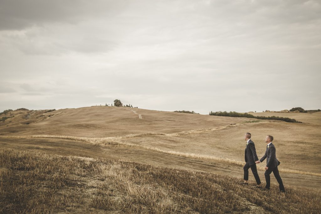 wedding photographer in la bandita country house siena