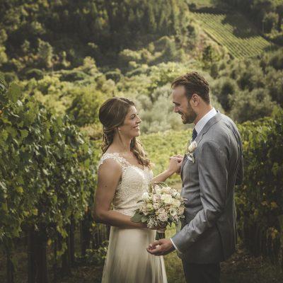 wedding photographer in chianti countryside