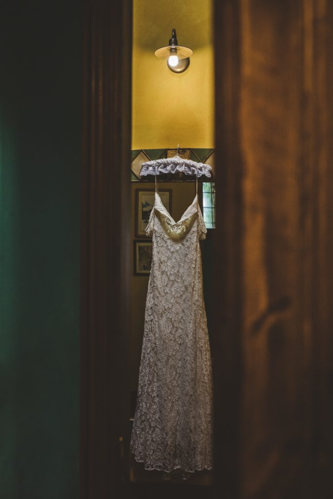 wedding dress in il grande prato florence