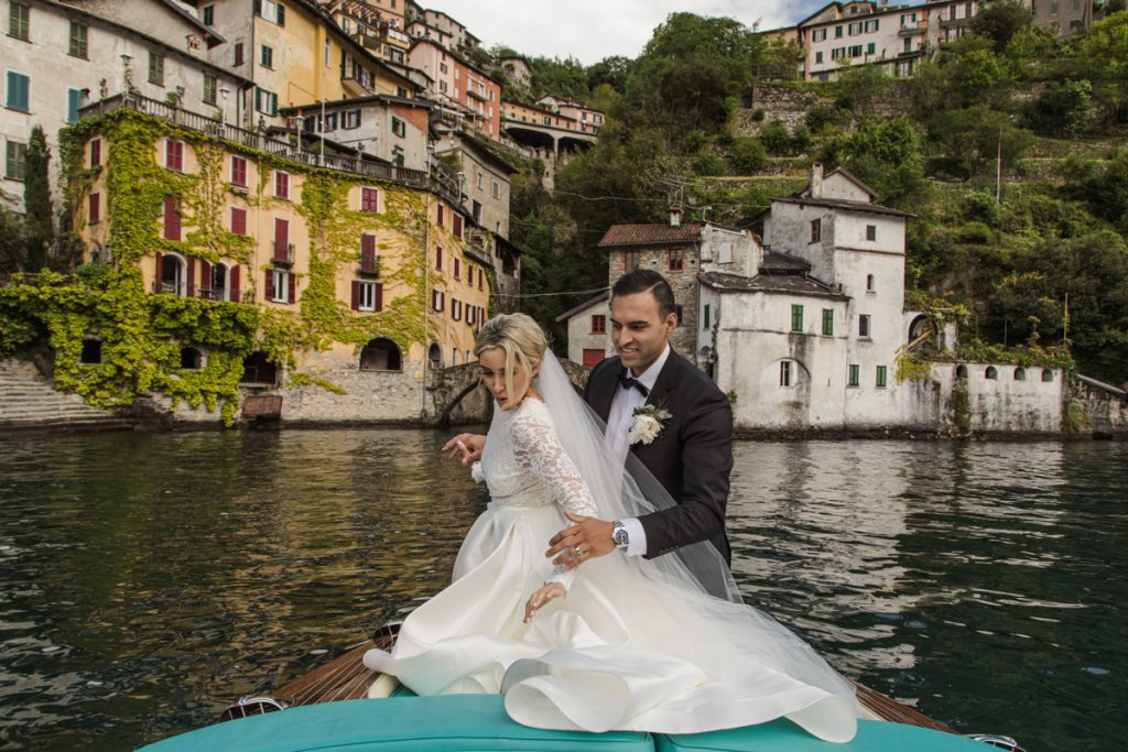 outdoor wedding in villa lario lake of como