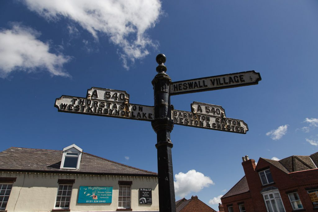 heswall street signs