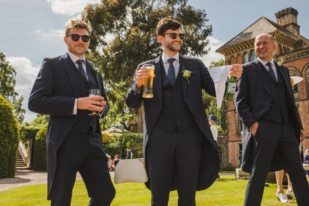 british groomsmen