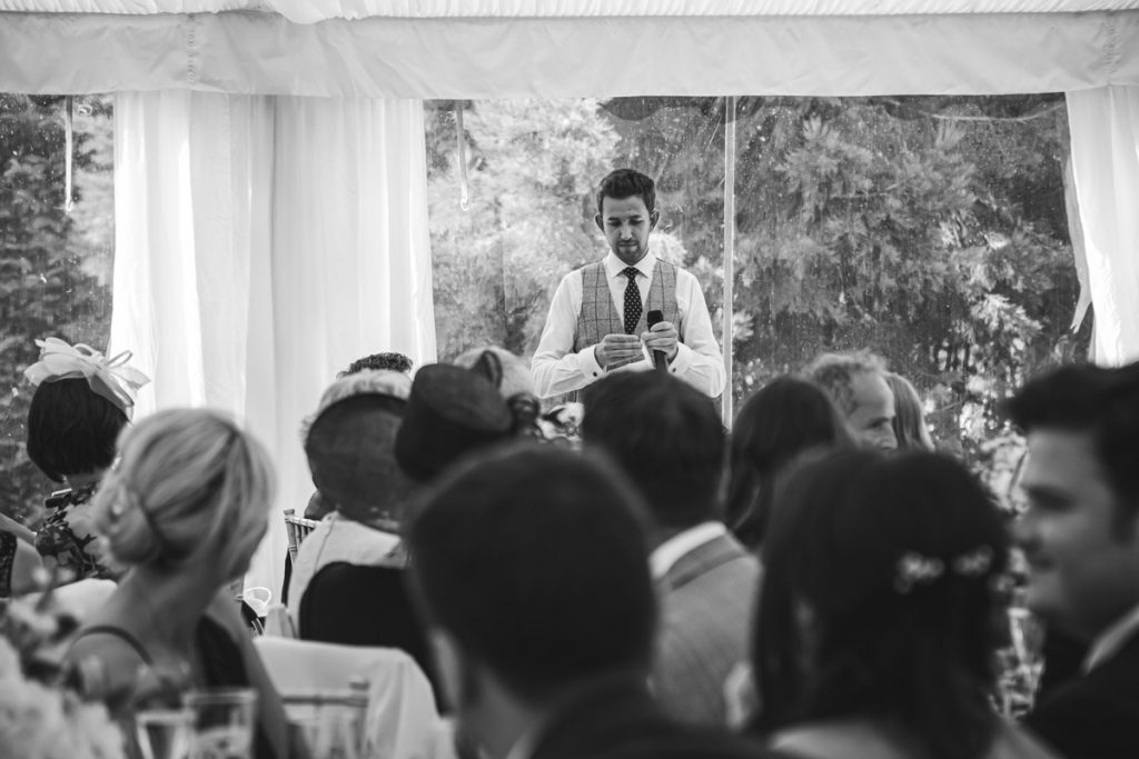groom's speach