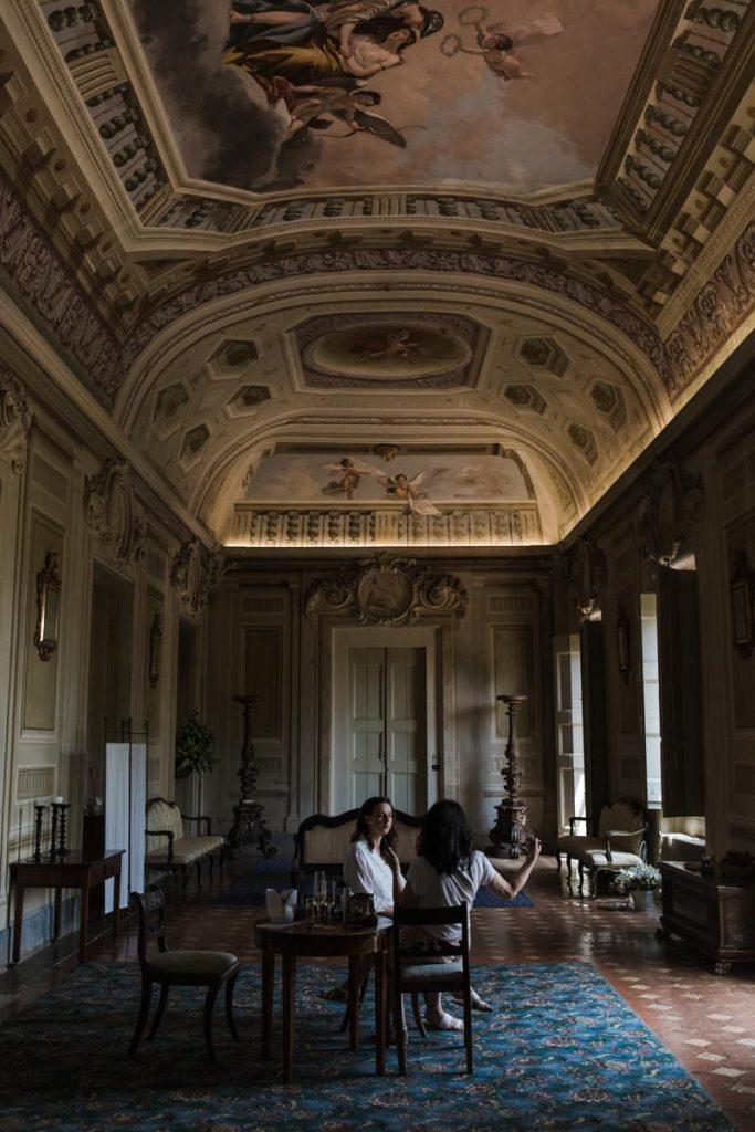 castello montegufoni main suite