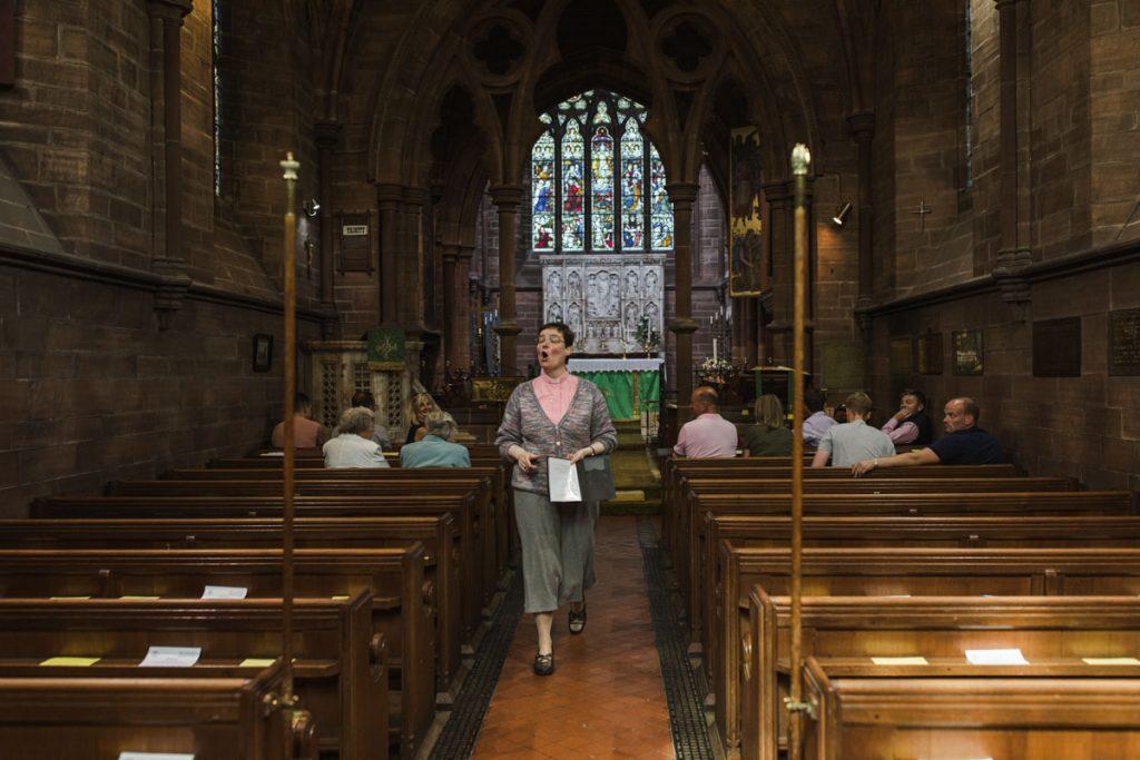 vicar in st bartholomews churc england